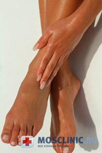 грибок на ногах