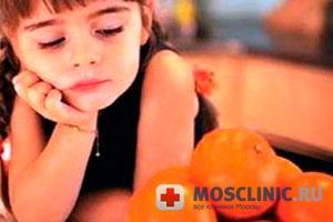 Пищевая аллергия у детей.