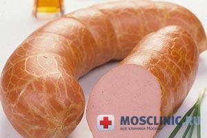колбаса может вызвать рак желудка