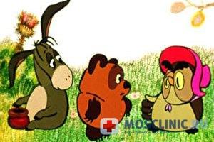 В детских поликлиниках показывают мультфильмы