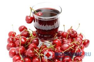Вишневый сок помогает от бессонницы