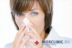 Аллергия обостряется в Новый год