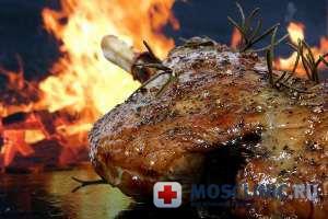 Жареное мясо вызывает рак почек